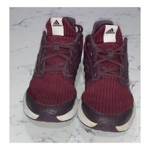 adidas RapidaRun Knit Big Kids' Maroon Sneakers
